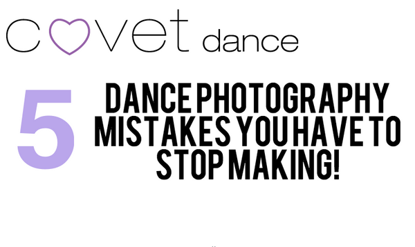 5 Dance Photography Mistakes you need to Stop Making!