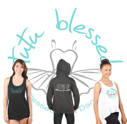 Custom Logowear for Blessed Feet Dance and Fundraiser Webstore Success