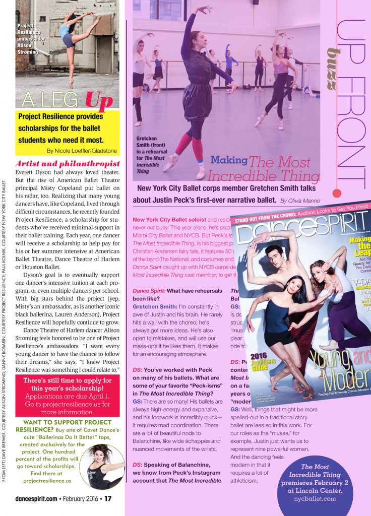 Dance Spirit Magazine's Upfront Buzz