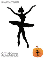 Ballerina Princess Pumpkin Template