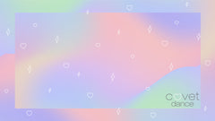 Holographic Covet Dance Zoom Background