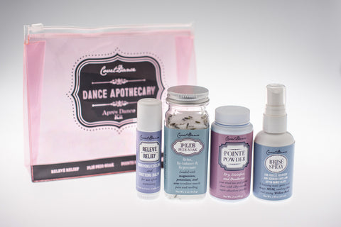 Dance Apothecary Set-Natural Remedies to Soothe What's Sore