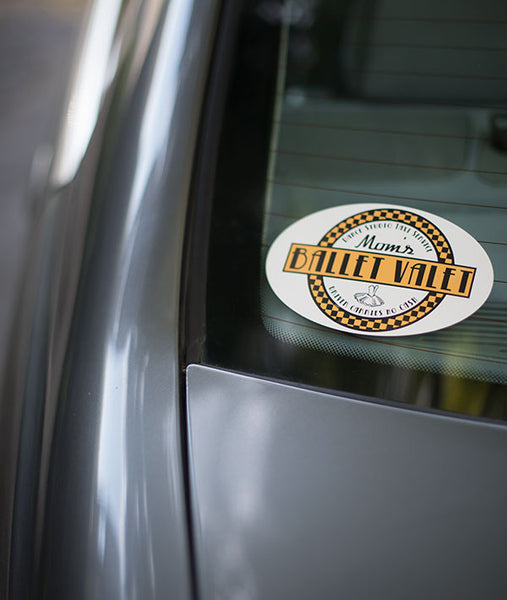 Durable UV resistant sticker will not damage your car and sticks to most surfaces