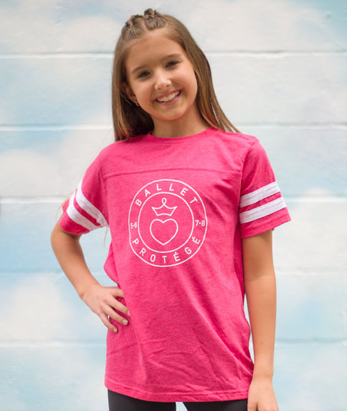 Ballet Protégé - Girls Football Tee