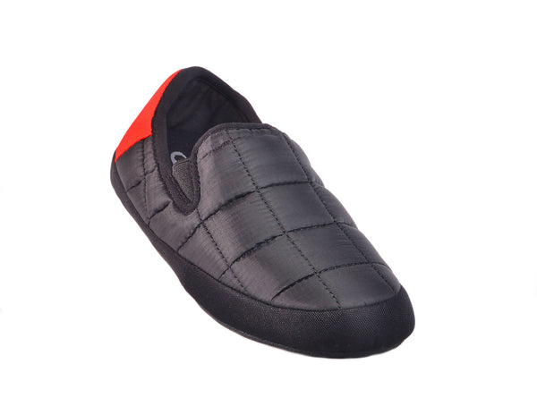 MENS MALMOES BLACK WITH RED LINING