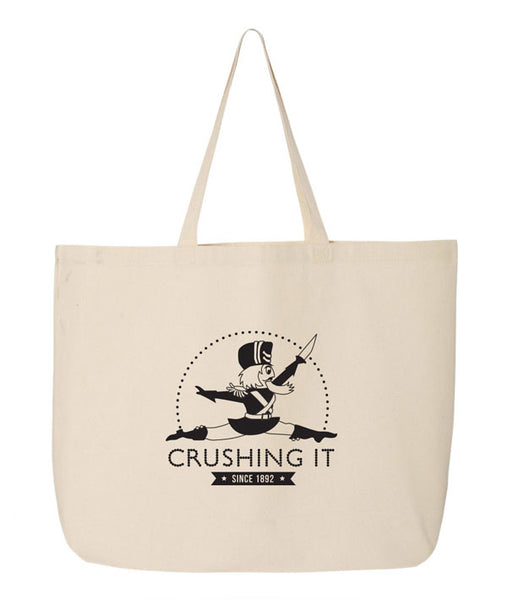 Crushing It - Nutcracker - Canvas Tote
