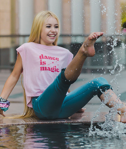 Dance is Magic cropped t-shirt