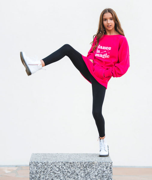 Dance is Magic Tunic Sweatshirt