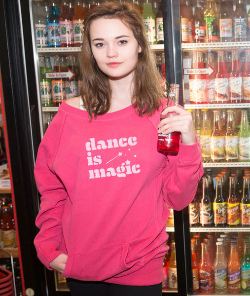 Dance is Magic Sweatshirt Tunic