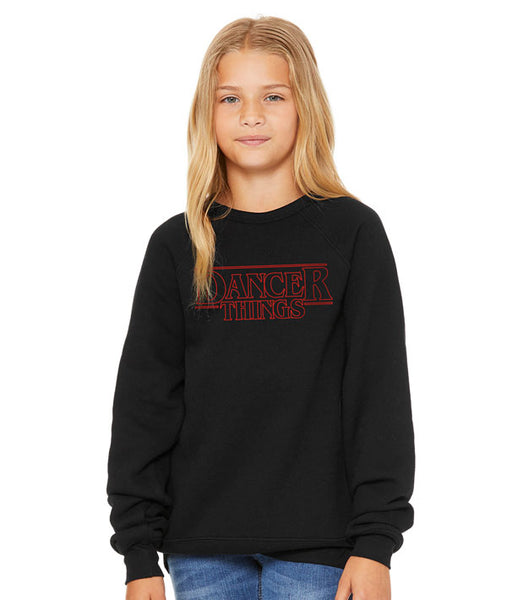 Dancer Things Youth Sweatshirt