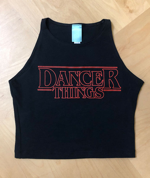 Dancer Things Crop Tank