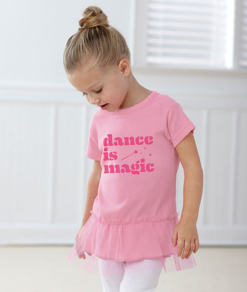 Dance is Magic - Toddler Tutu Tunic
