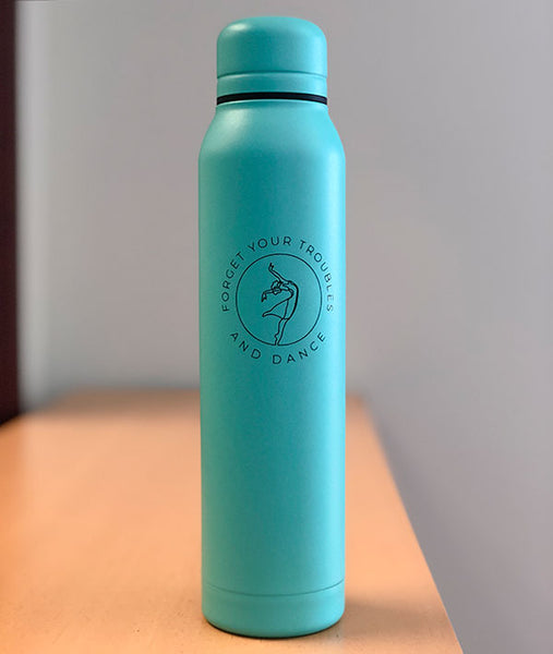 Forget Your Troubles and Dance thermal water bottle