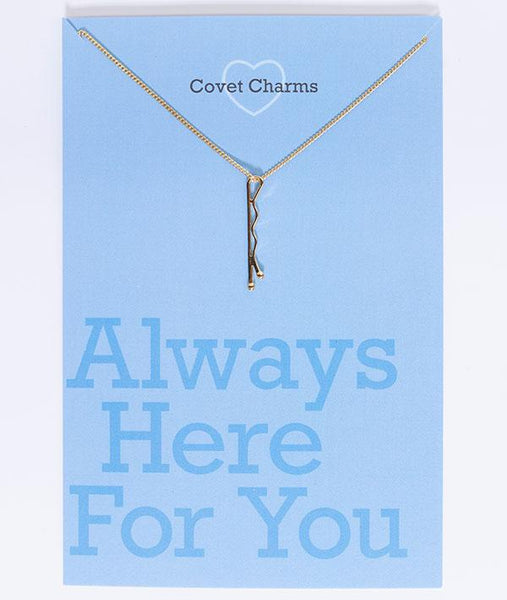 Always Here For You - Bobby Pin Necklace