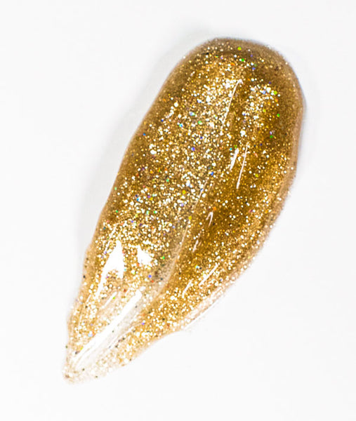Gold Sparkle Gel