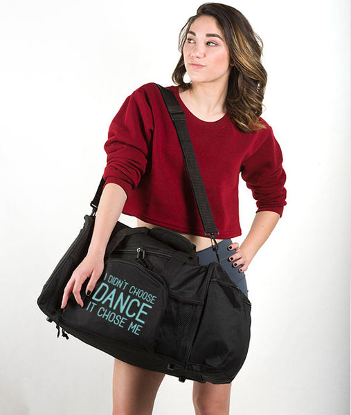 Large Dancer Duffle with cute graphic