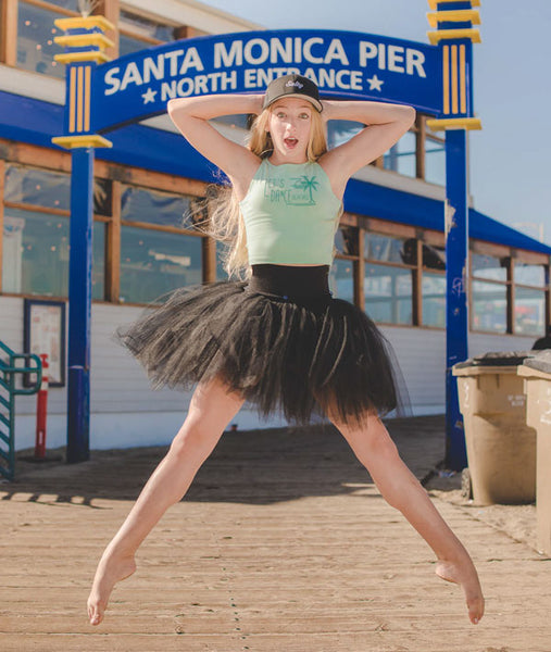 Musical.ly Star, Hannah Mae at the Santa Monica Pier