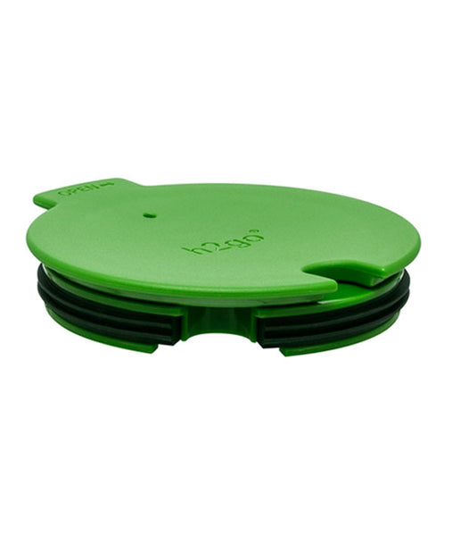 green push-on swivel lid