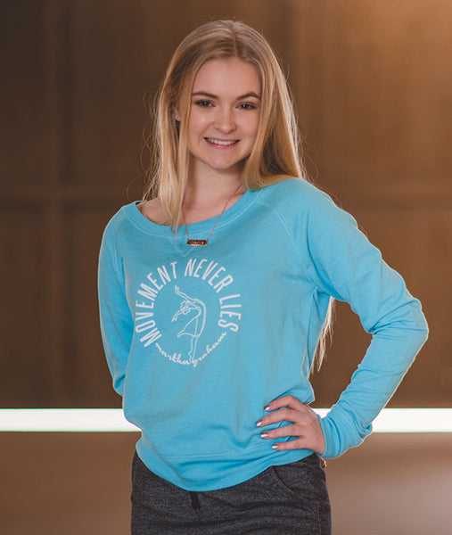 Lightweight Pullover with Martha Graham Quote