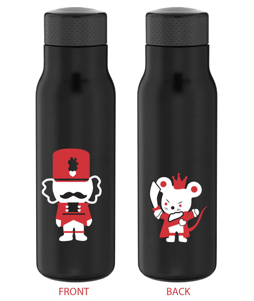 Nutcracker and Mouse King Ballet Stainless Steel Water Bottle