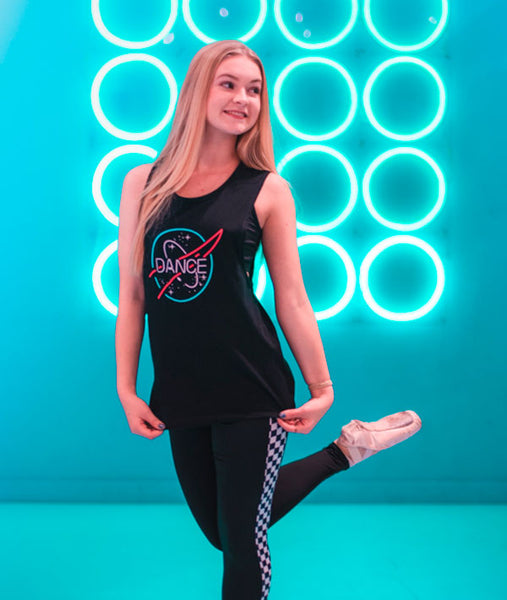 Out of This World Muscle Tank with Check Me Out Leggings