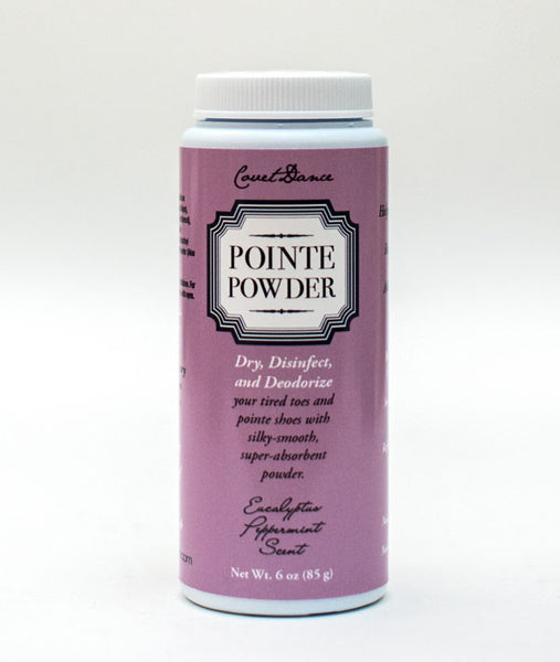 Pointe Powder 6oz - Reduce friction in your toes and dry out your shoes