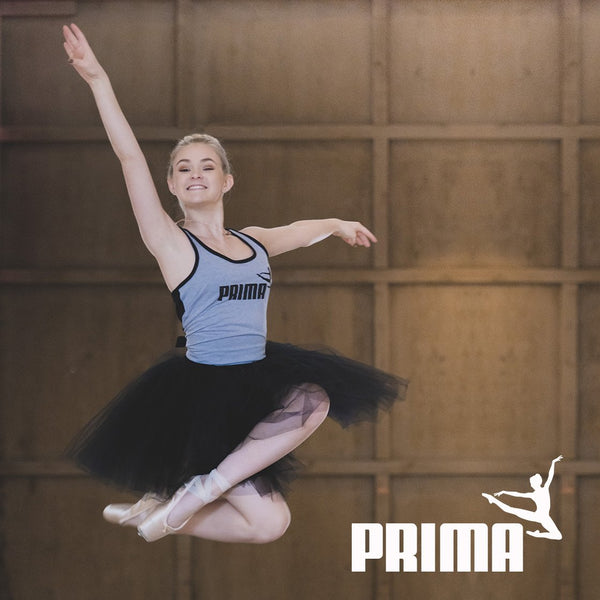 Puma-inspired tank for ballerinas