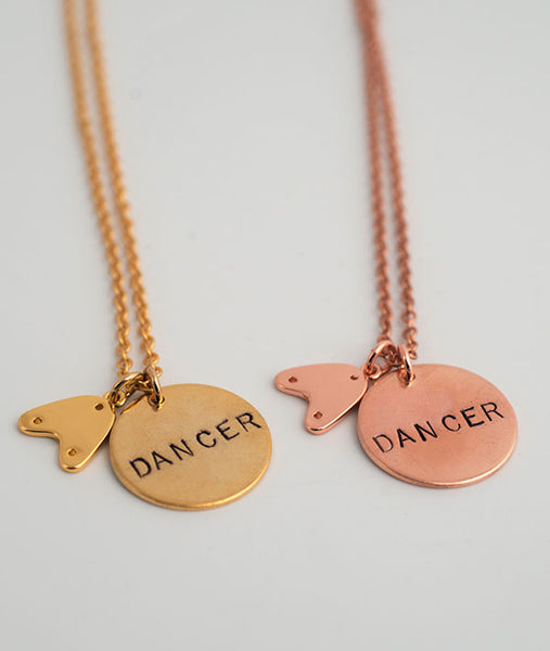 Tap Dancer Necklaces