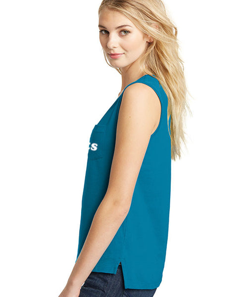 Oh Pliés - Sleeveless Pocket Tee