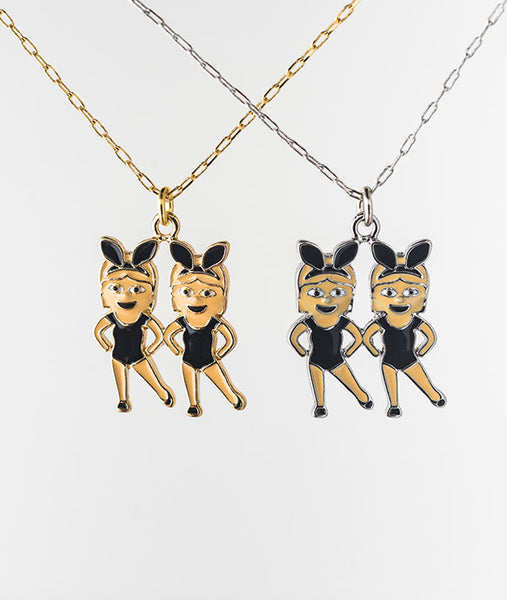 Dancer Emoji Necklaces