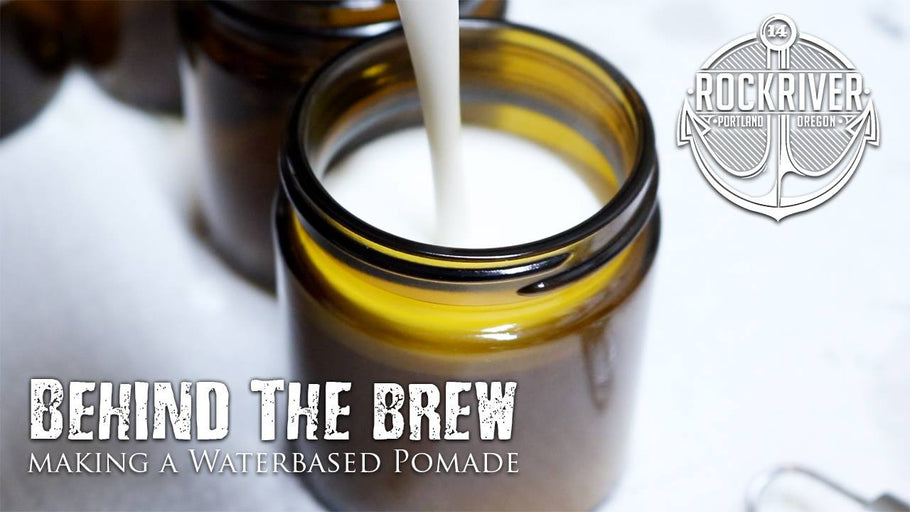 Watch Branden Make a Water Based Pomade!