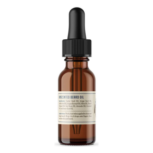 Beard oil - Unscented - Rockriver - side 1