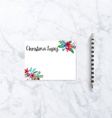 Personalized Stationary Cards - Wedding Stationery Notecards - Mom Gift from Daughter - Letter Writing Set - Daughter In Law Gift Note Cards