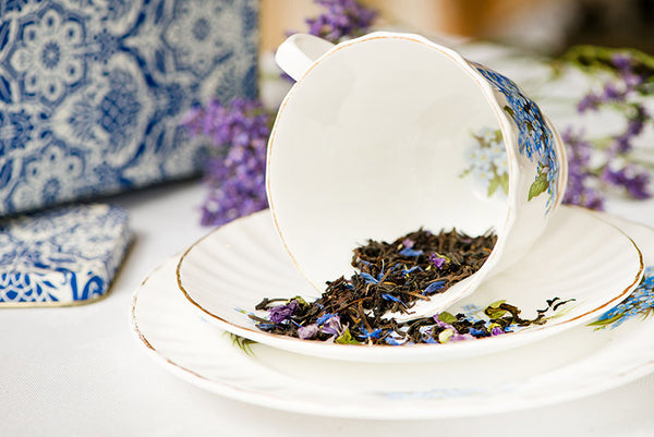 Blue Petal Earl Grey Loose Leaf Tea