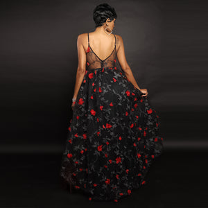 A Night to Remember Rose Tulle Dress