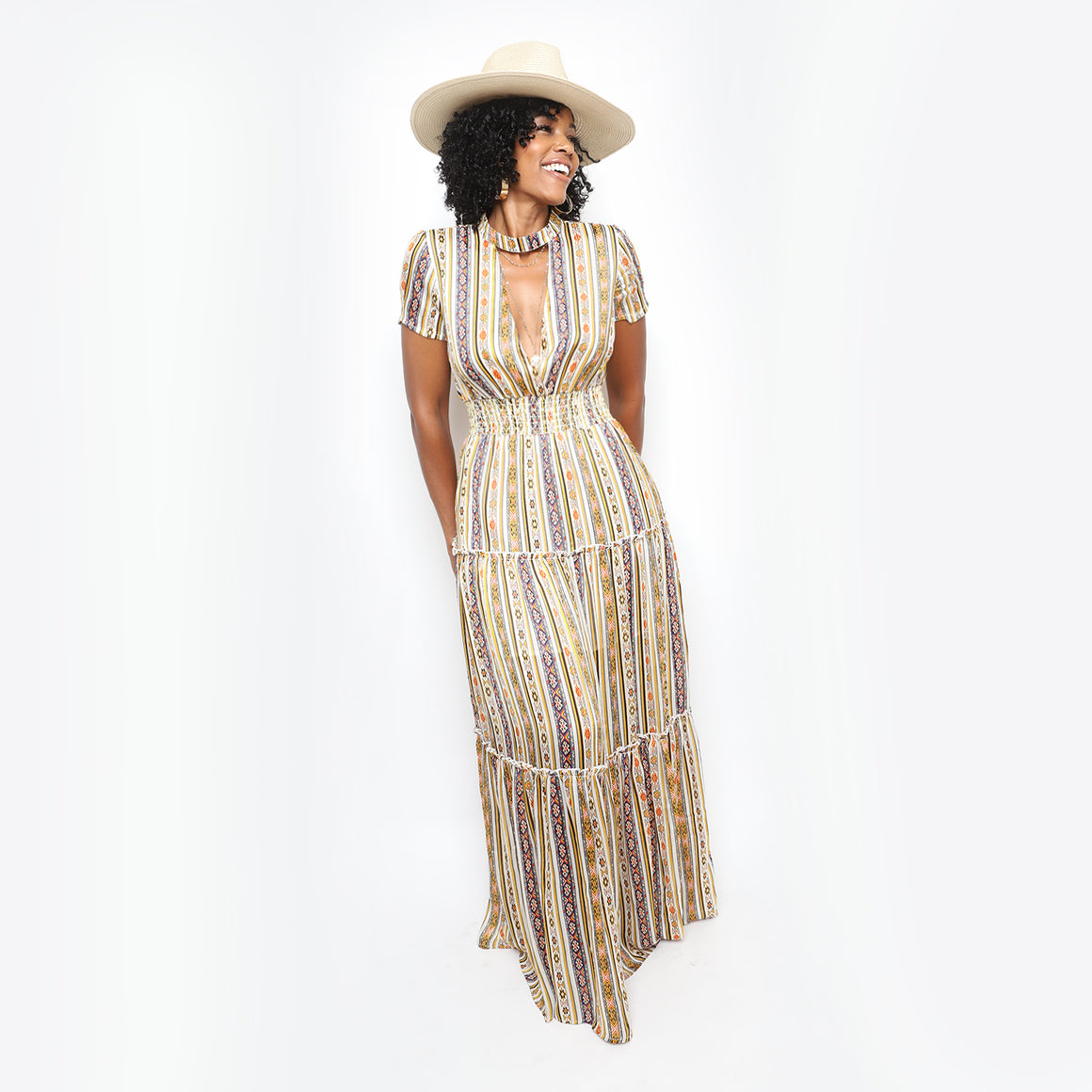 Nirvana Feels Maxi Dress