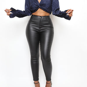 Thrill Seeker Leather Pant