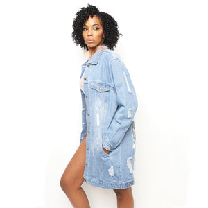 Girl Power Denim Jacket