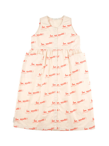BON APPÉTIT WV LONG TANK DRESS