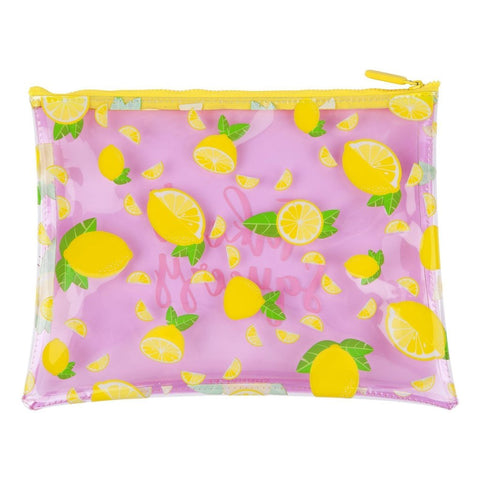 SEE THRU POUCH LEMON