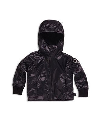 Nylon jacket kids -Black