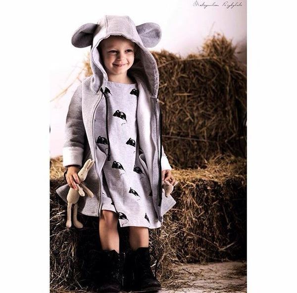 Mouse Coat Grey