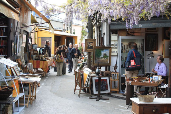 Les Puces de St Ouen Flea Market Paris Vintage Shopping
