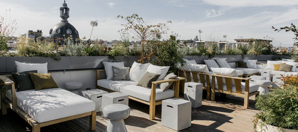 Rooftop bar hotel national des arts et metiers