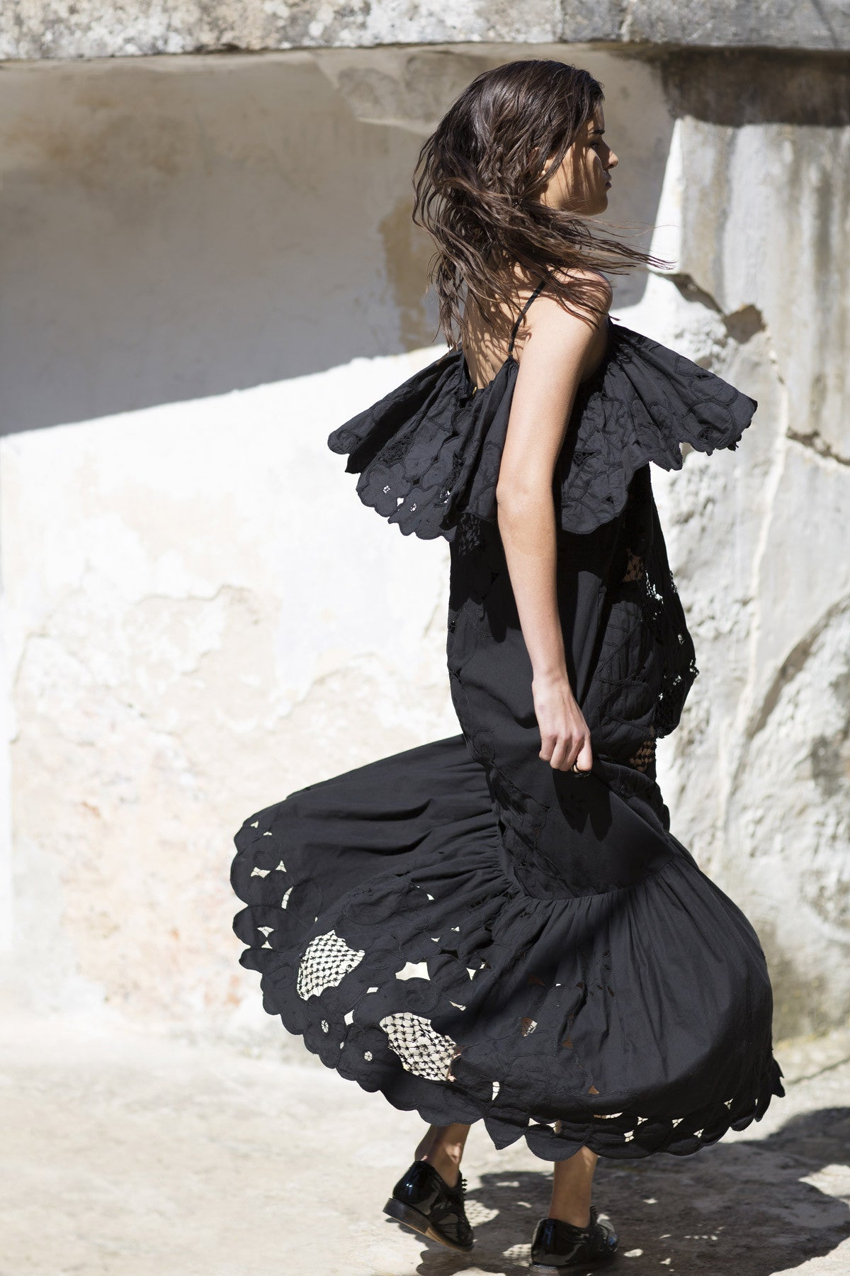 will fly over you dress