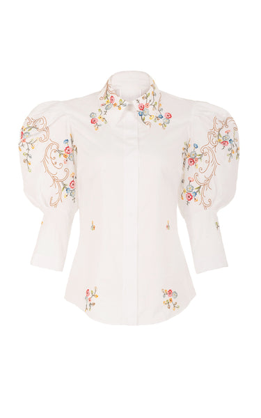 sacred to the land floral shirt