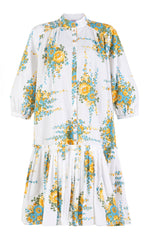 love gone wrong  floral shirt dress