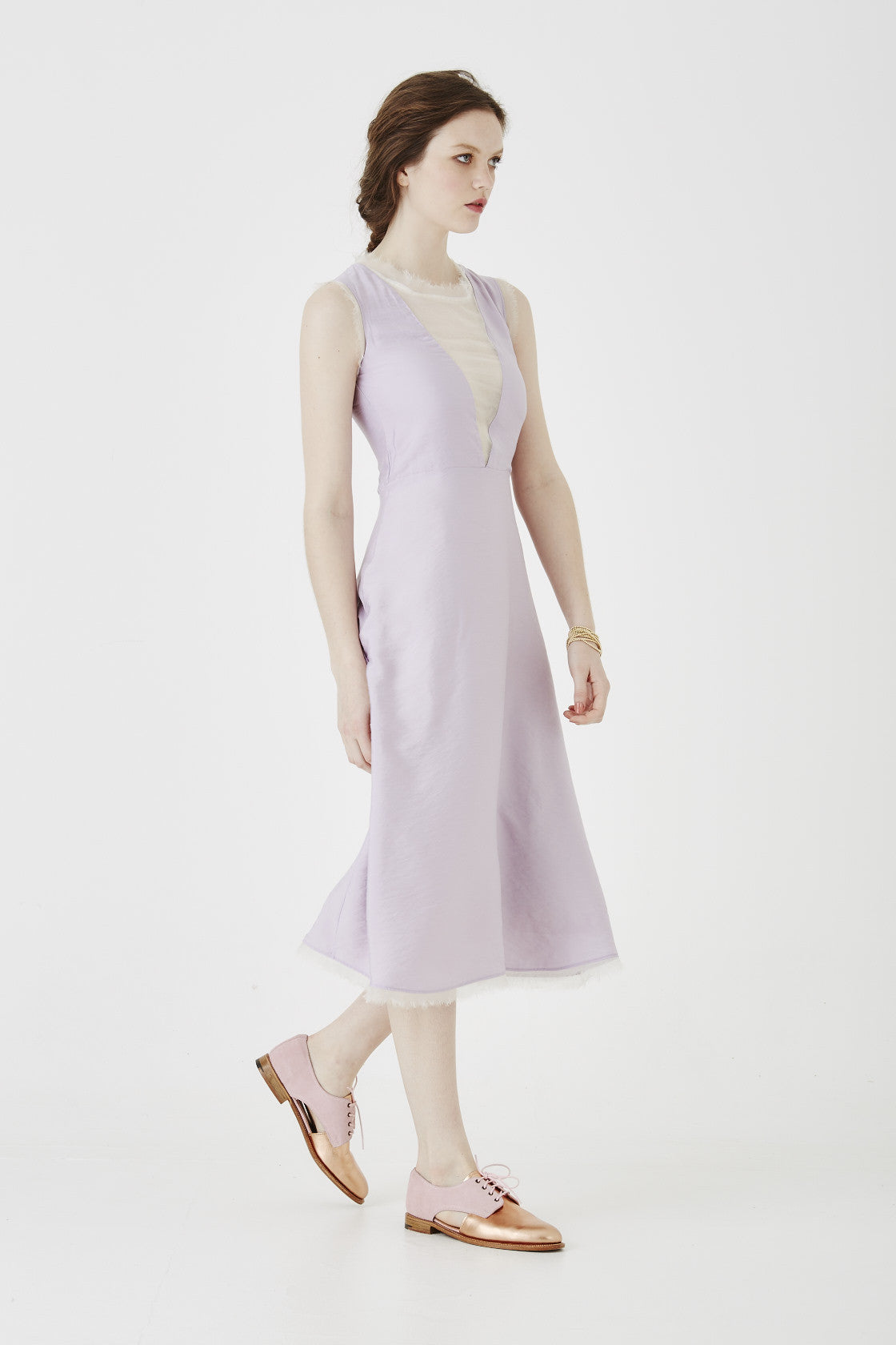 i am beautiful lilac dress