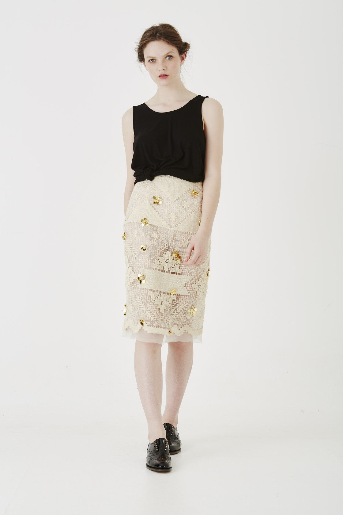 sudden downpour skirt