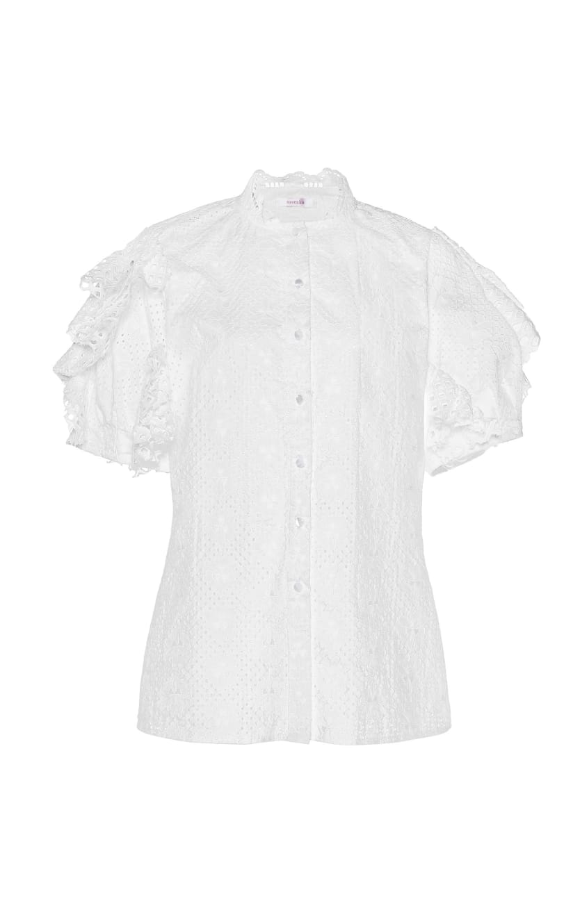 part of the uniform blouse